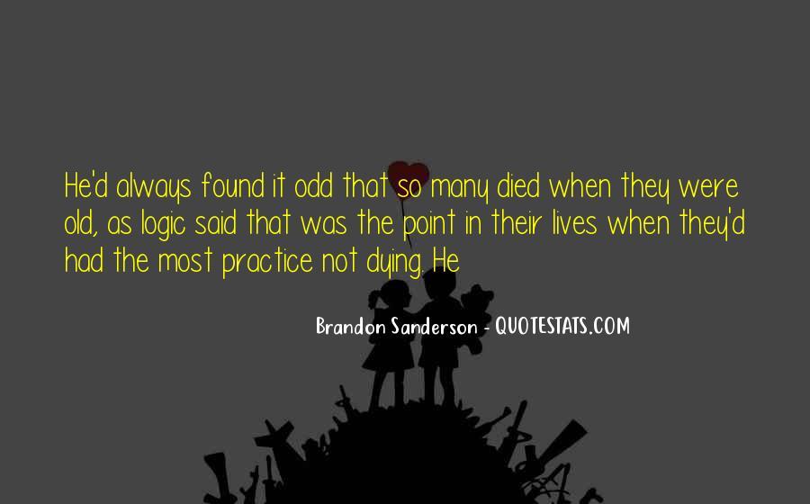 Old Odd Sayings #1876431