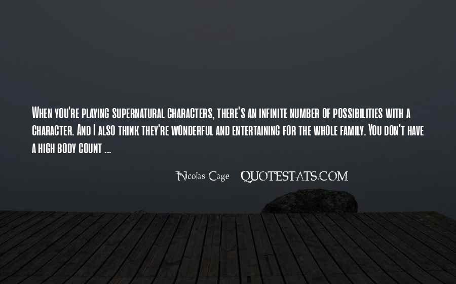 Supernatural Character Sayings #398242