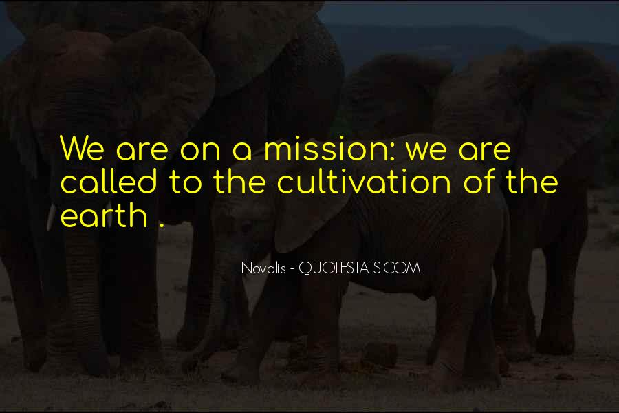 On A Mission Sayings #147854