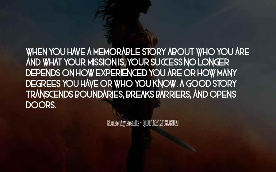 On A Mission Sayings #161255