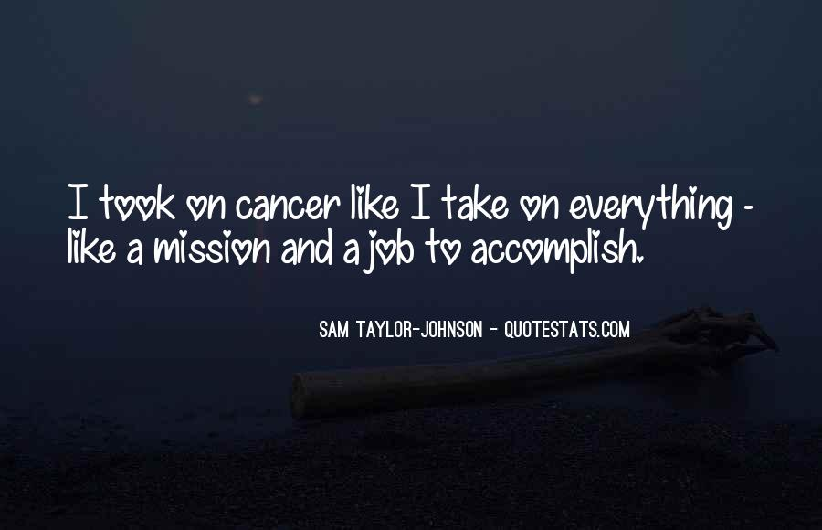 On A Mission Sayings #376891