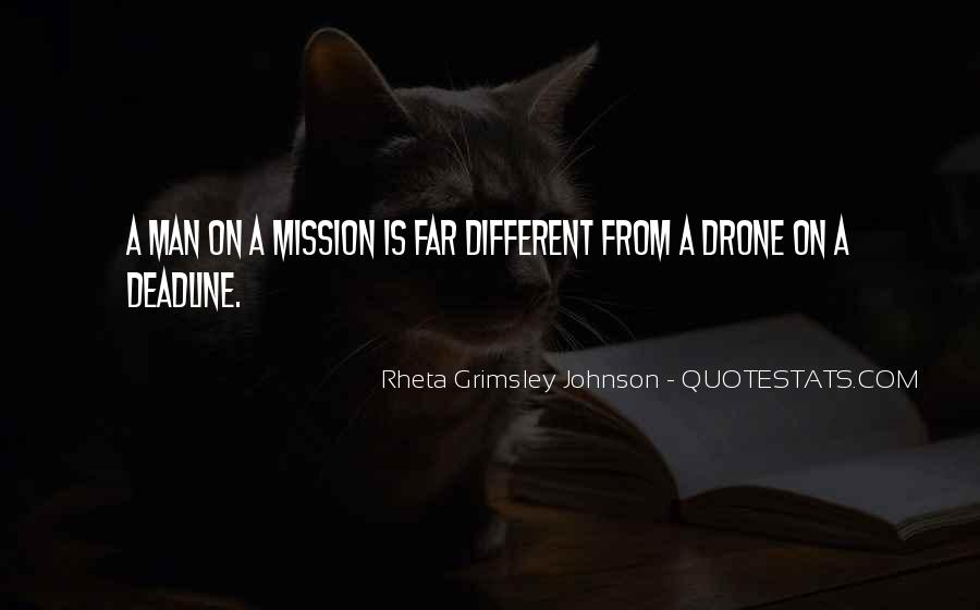 On A Mission Sayings #378265