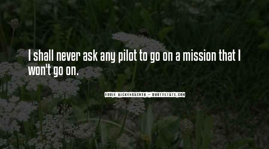 On A Mission Sayings #480365