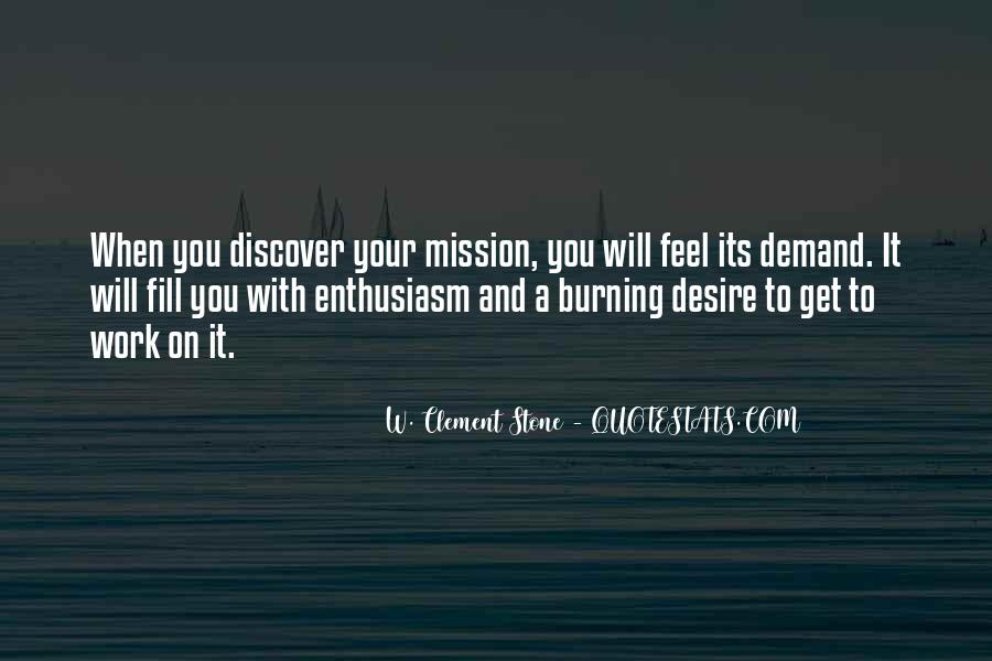On A Mission Sayings #487297