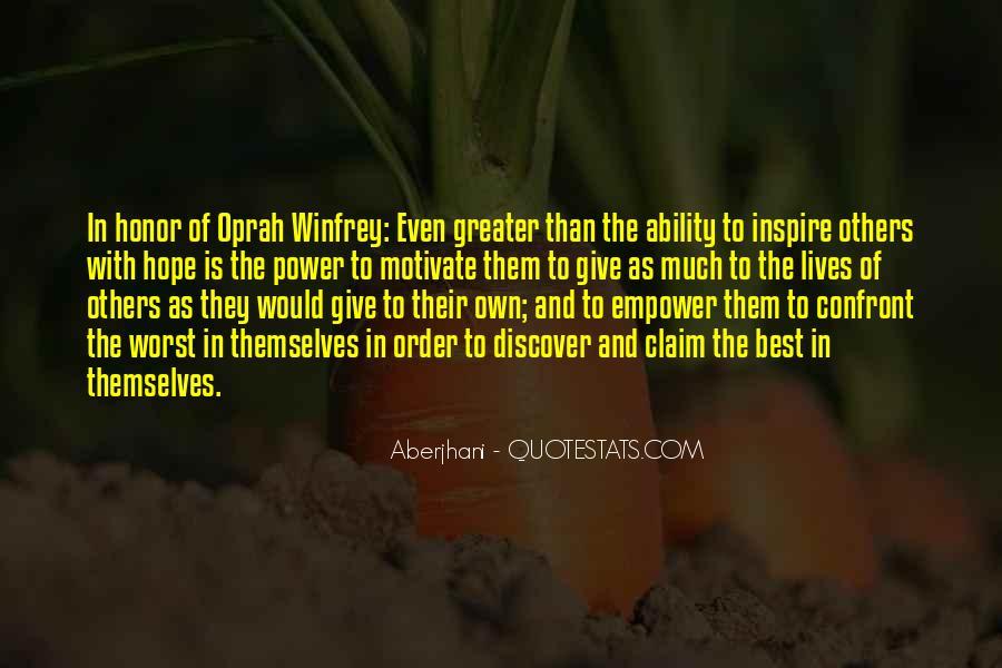 Oprah Best Sayings #215093