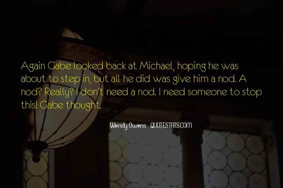 Michael Owens Sayings #1228039