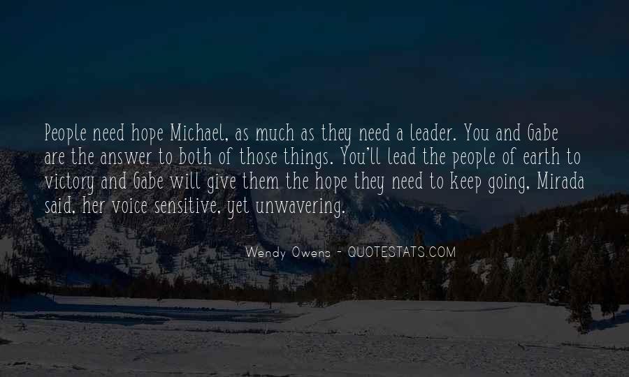 Michael Owens Sayings #196392