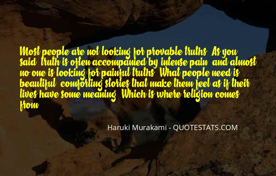 Most Painful Sayings #50269