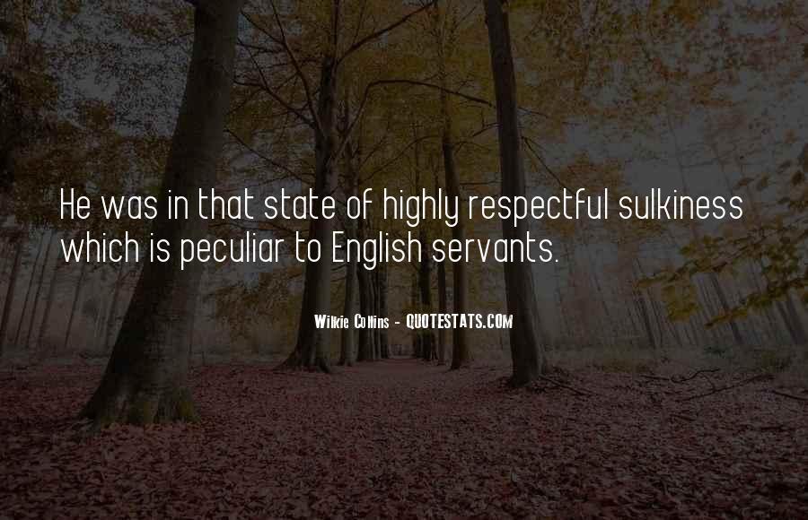 Peculiar English Sayings #64732