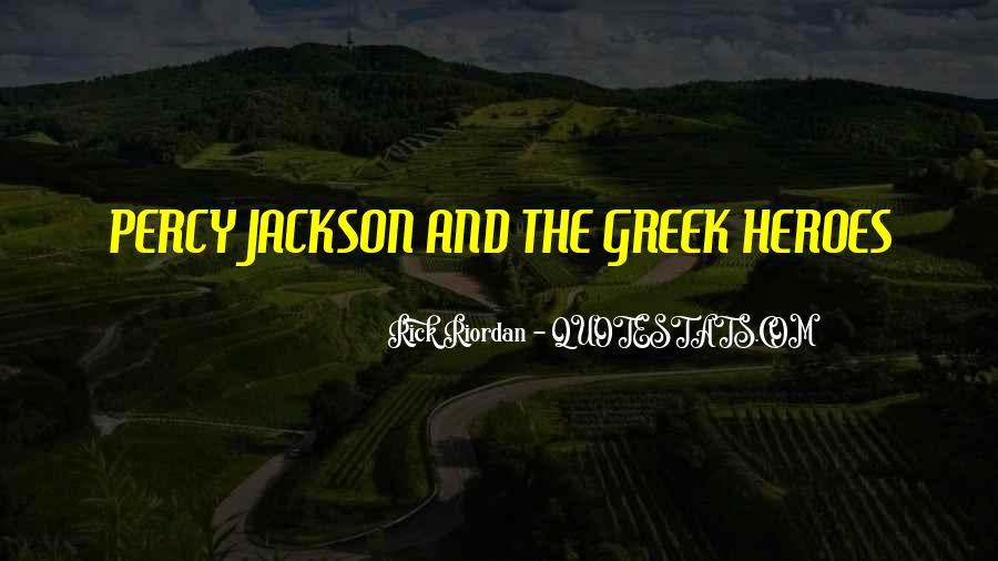 Percy Jackson Greek Sayings #1802514
