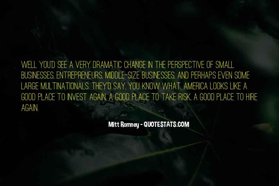 Change Perspective Sayings #1035697