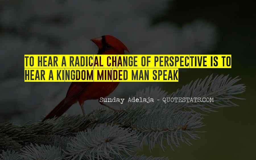 Change Perspective Sayings #1275237