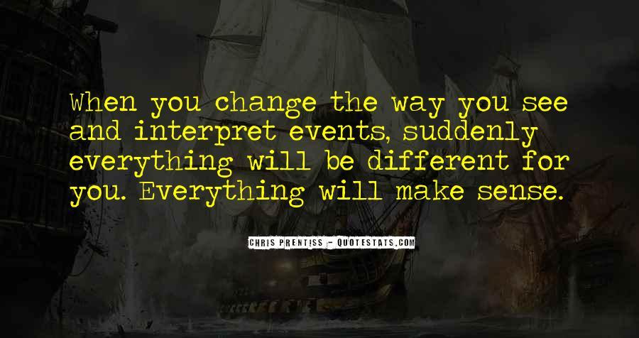 Change Perspective Sayings #560139