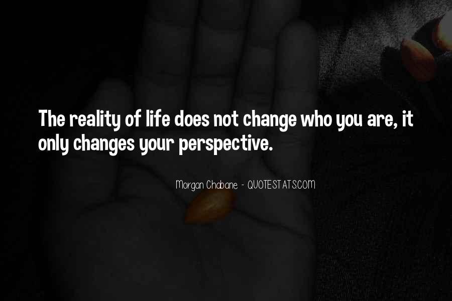 Change Perspective Sayings #851116
