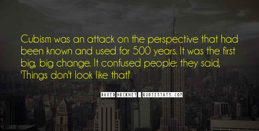 Change Perspective Sayings #875767