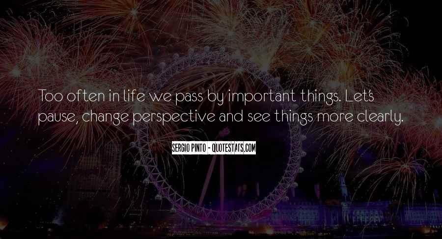 Change Perspective Sayings #940902