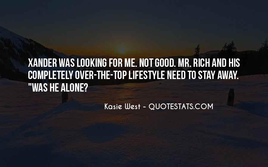 Quotes About Rich Lifestyle #535708