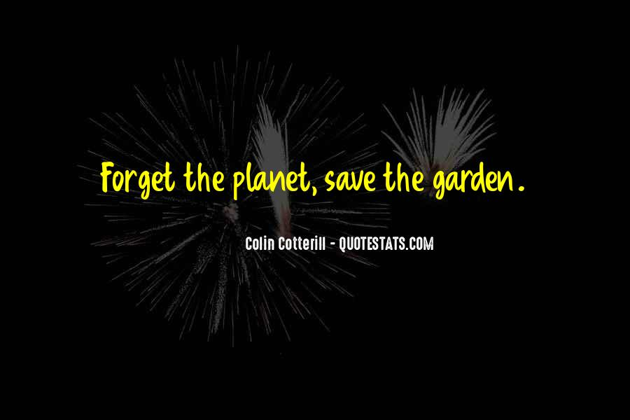Save The Planet Sayings #1088364
