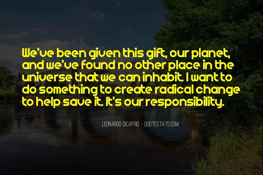 Save The Planet Sayings #1162472