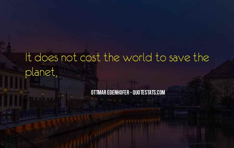 Save The Planet Sayings #69004