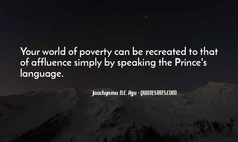 Poverty Quotes And Sayings #1323602