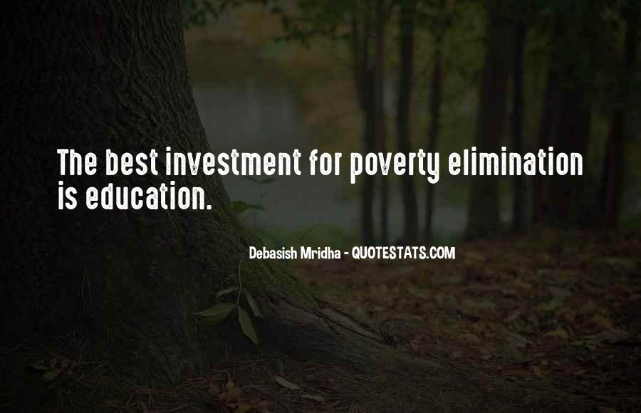Poverty Quotes And Sayings #1328204