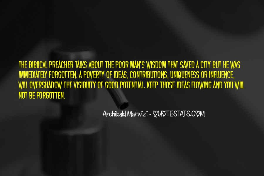 Poverty Quotes And Sayings #1372129