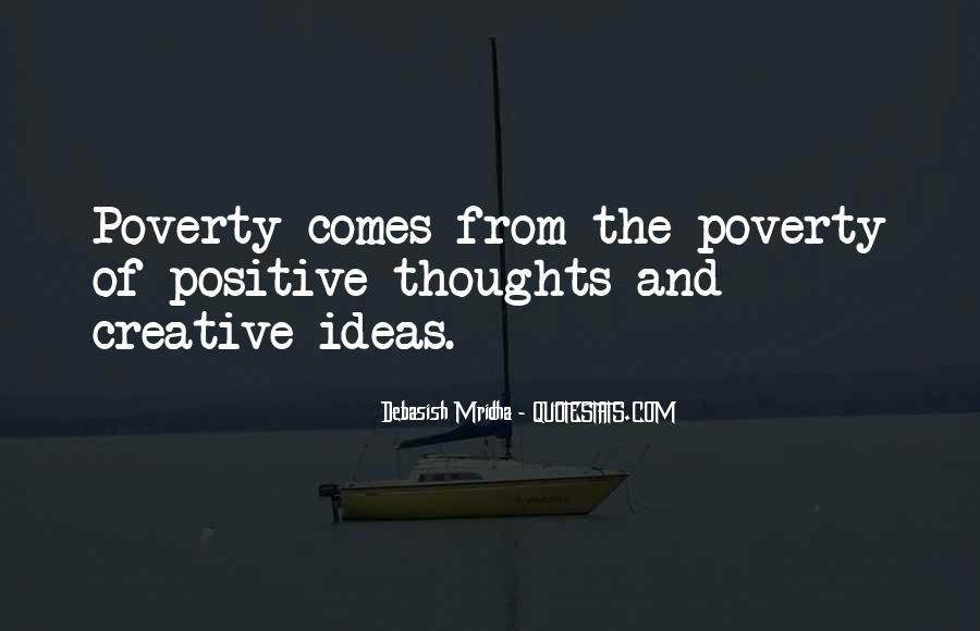 Poverty Quotes And Sayings #140436
