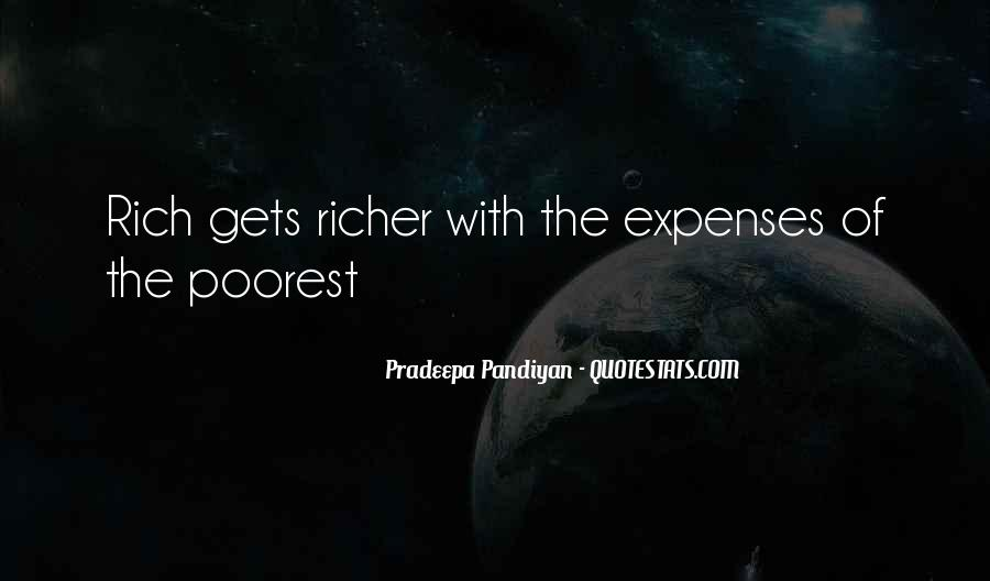 Poverty Quotes And Sayings #1421220