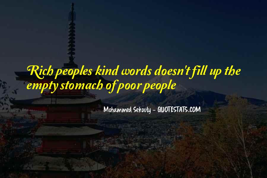 Poverty Quotes And Sayings #1594297