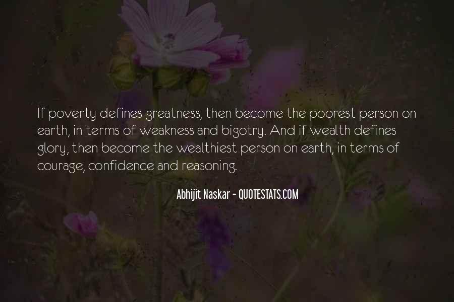 Poverty Quotes And Sayings #1682340