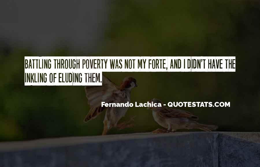 Poverty Quotes And Sayings #169532