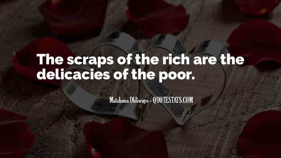 Poverty Quotes And Sayings #316308