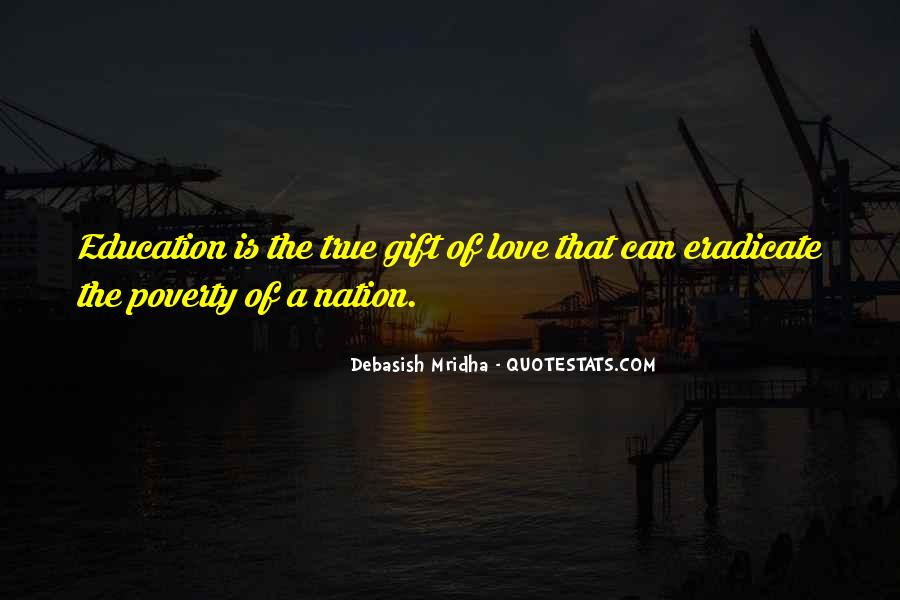 Poverty Quotes And Sayings #333661