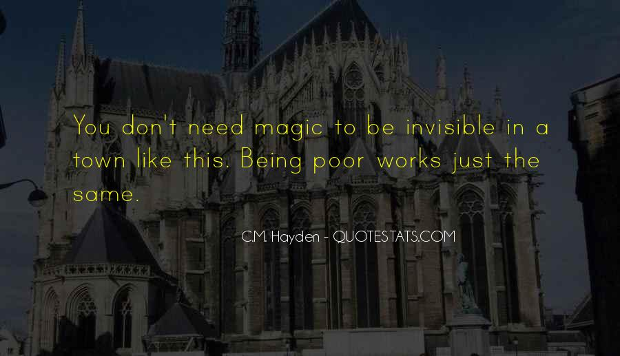 Poverty Quotes And Sayings #521785