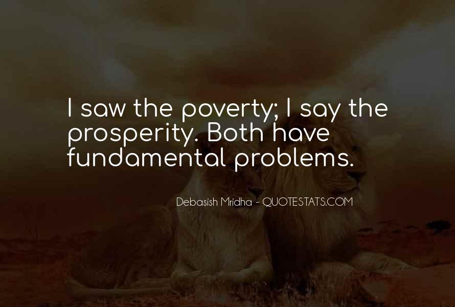 Poverty Quotes And Sayings #744730