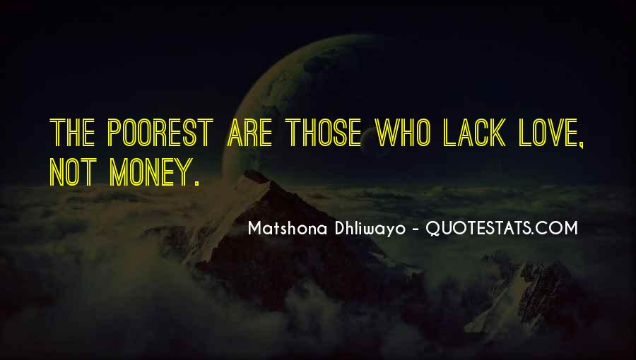 Poverty Quotes And Sayings #779037