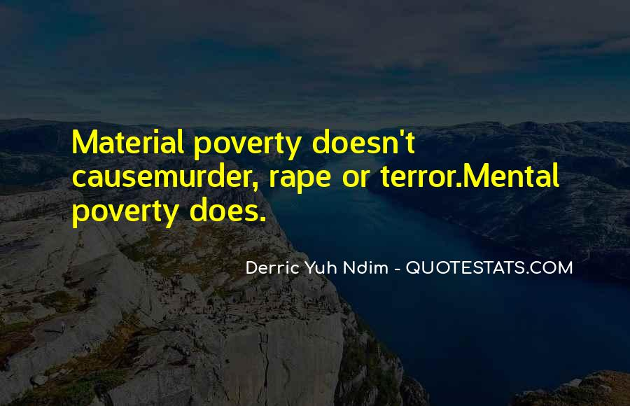 Poverty Quotes And Sayings #806983