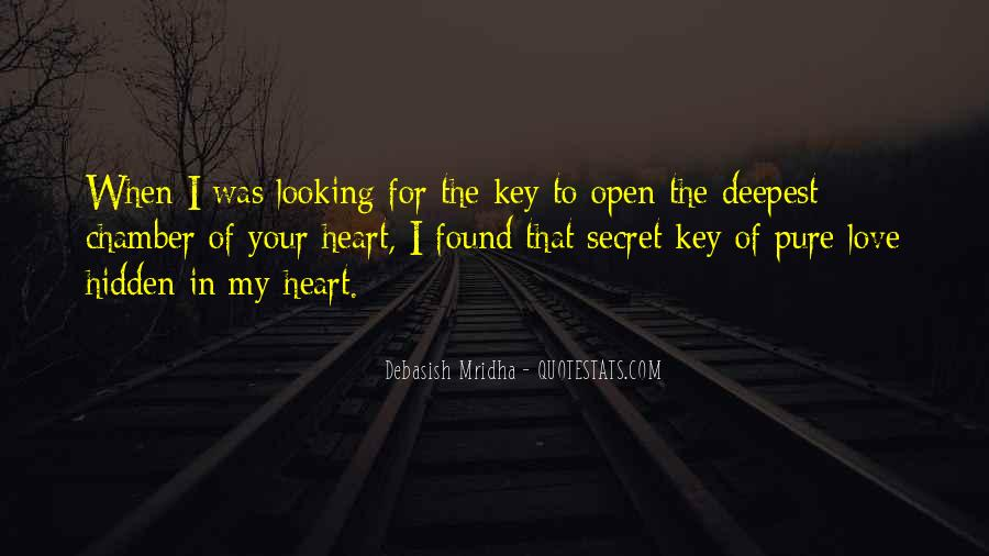 Pure Love Quotes Sayings #1559662