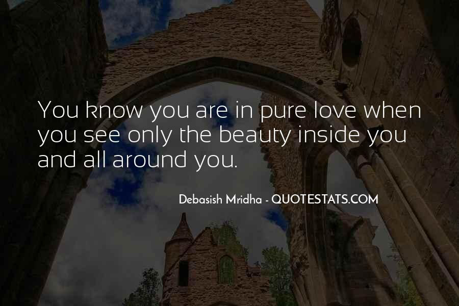 Pure Love Quotes Sayings #1644283