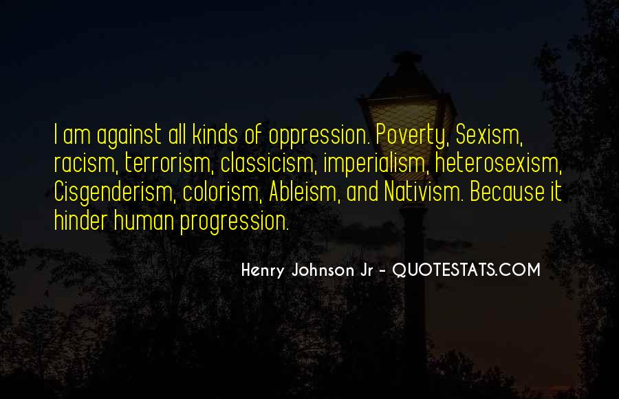 Racism Quotes And Sayings #1798871