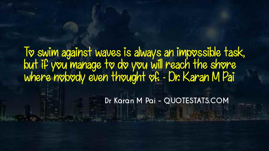 Quotes About Waves On The Shore #1146521