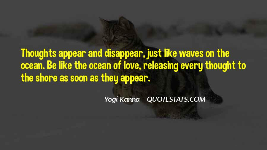 Quotes About Waves On The Shore #1290259