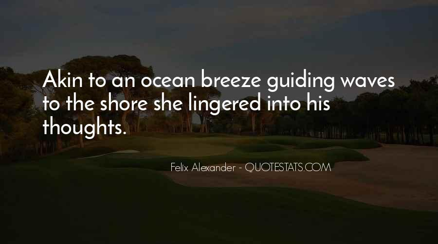 Quotes About Waves On The Shore #1436994