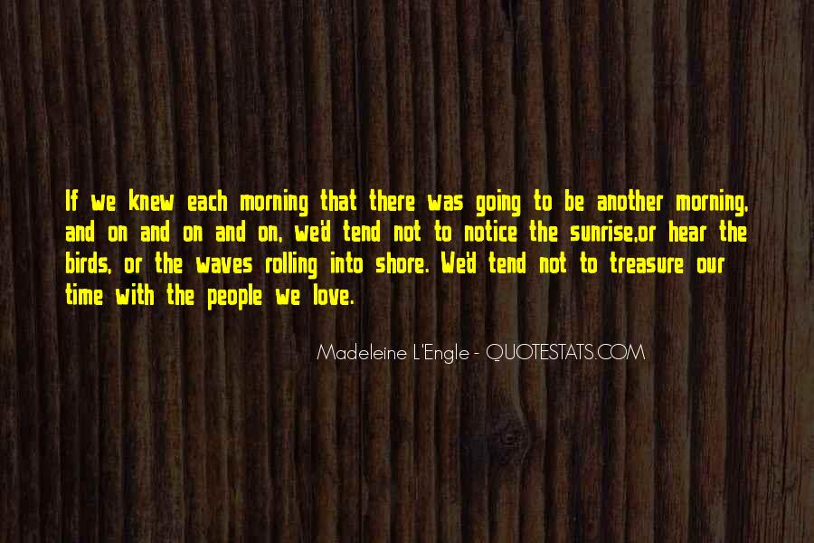 Quotes About Waves On The Shore #1586463