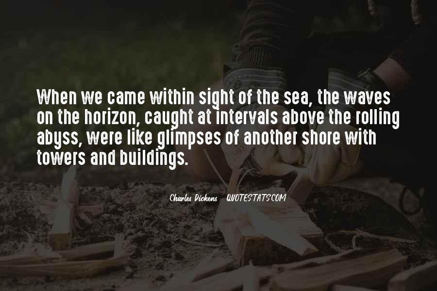 Quotes About Waves On The Shore #1587632