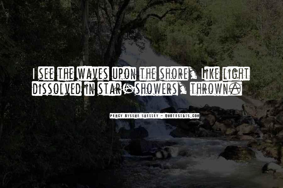 Quotes About Waves On The Shore #1847006