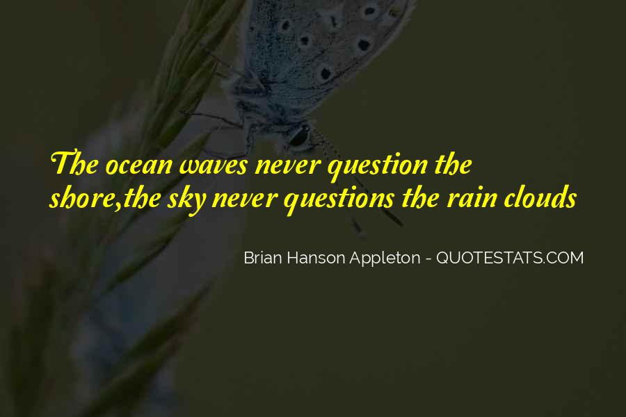 Quotes About Waves On The Shore #7555