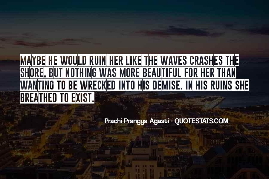 Quotes About Waves On The Shore #911762