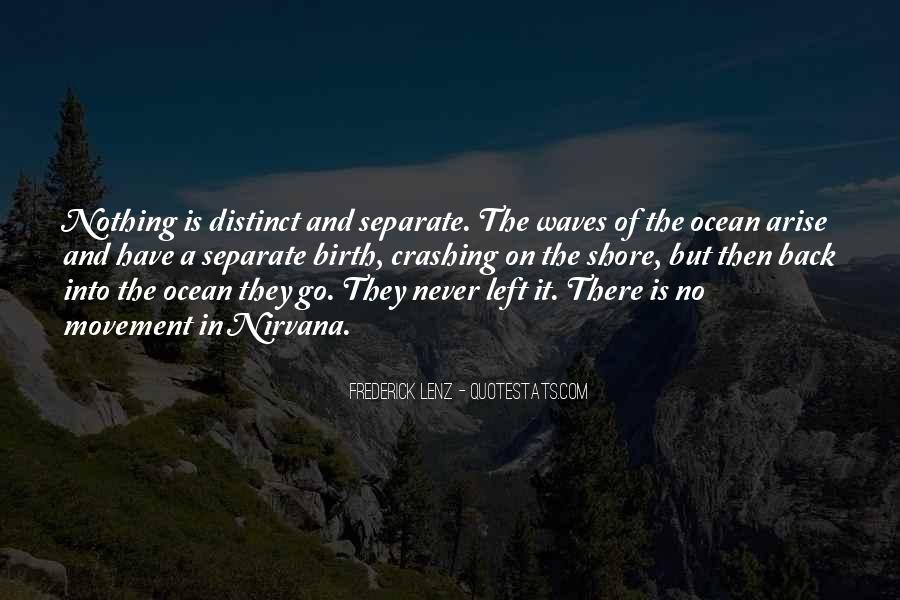 Quotes About Waves On The Shore #944552